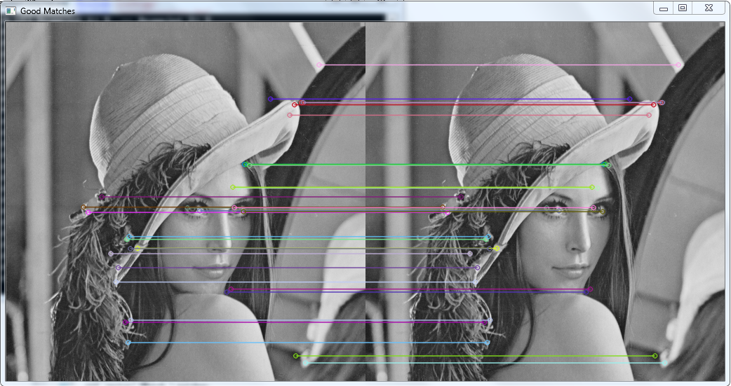 SURF example give weird result - Emgu CV: OpenCV in  NET (C#, VB