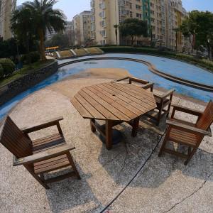桌椅和水池